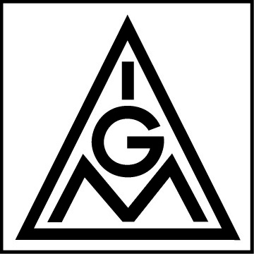 IG Metall, s/w 120x120