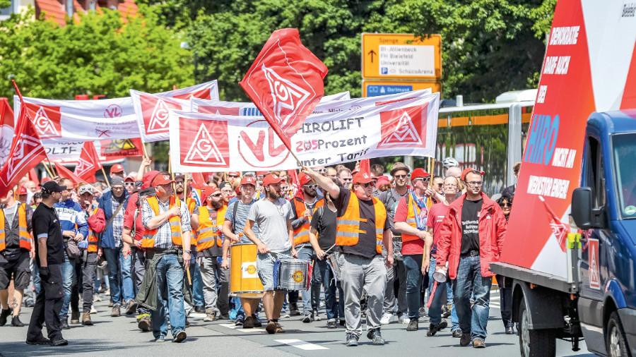 Demo Bielefeld